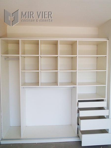 Amoblamientos mirvier galeria de placares a medida for Amoblamientos para dormitorios